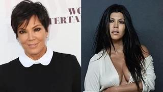 Kris Jenner and Kourtney Kardashian Get In Fight In Delivery Room Video