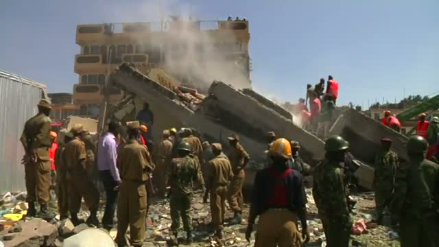 1 Dead After Five-story Building Collapse Video
