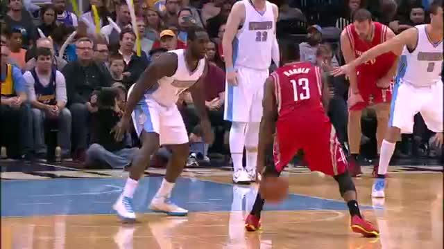 43db69da7713 Watch NBA  James Harden Scores 41-Points
