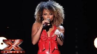 the x factor uk 2014 fleur east sings mariah careys all i want for christmas