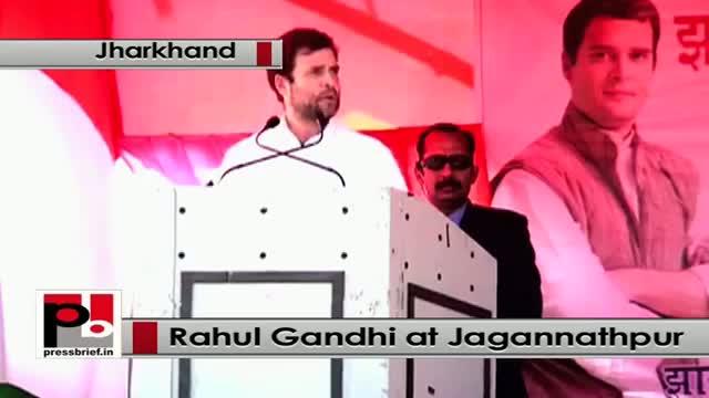 Jharkhand polls: Rahul Gandhi at Jagannathpur attacks Narendra Modi govt