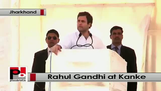 Jharkhand polls: At Kanke, Rahul Gandhi lashes out at Modi, NDA Govt