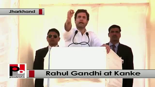 Jharkhand polls: At Kanke, Rahul Gandhi attacks Modi-led NDA Govt at the Centre