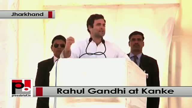 Jharkhand polls At Kanke, Rahul Gandhi attacks Modi, NDA Govt