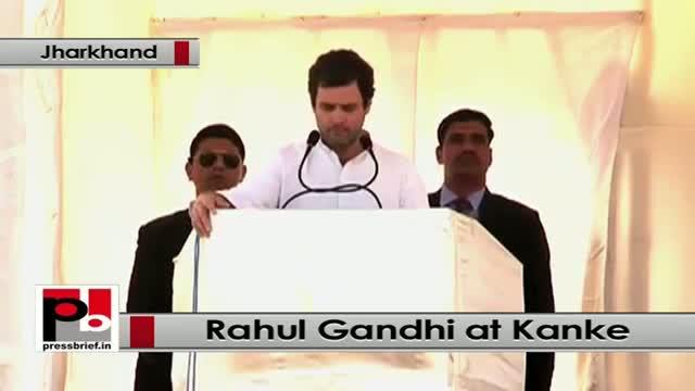 Jharkhand polls - Rahul Gandhi questions Modi govt's policies