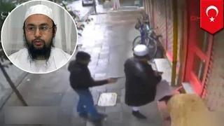 Shocking video: Uzbek religious leader assassinated in Istanbul caught on cctv video