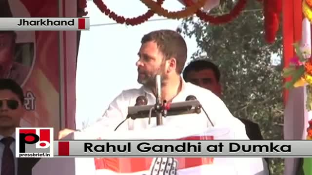 Jharkhand polls: At Dumka, Rahul Gandhi attacks PM Modi