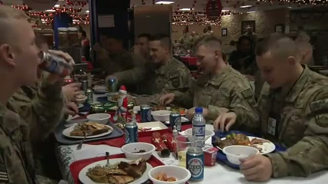 Americans Celebrate a Kabul Christmas Video