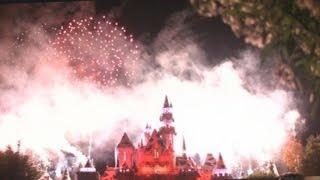 2014 Disneyland Christmas Holiday Fireworks Show Video