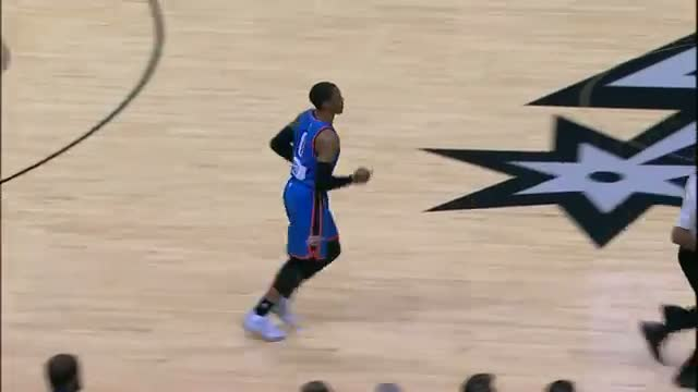 NBA: All-Access: Russell Westbrook Mic'd Up on Christmas Day in San Antonio