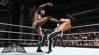 Justin Gabriel vs. Titus O'Neil: WWE Superstars, December 25, 2014