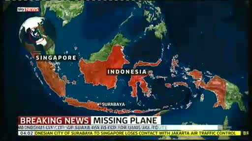 AirAsia flight QZ8501 with 162 people from Indonesia to Singapore MISSING