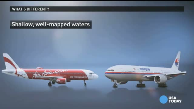 Missing AirAsia jet likely at 'bottom of the sea' video