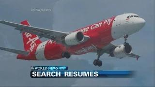 WEBCAST: The Search for Missing AirAsia Flight 8501 Resumes
