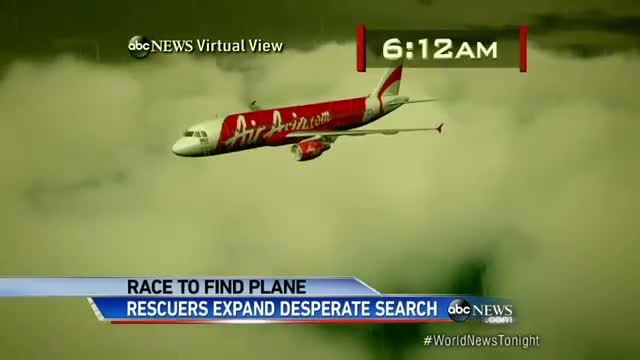 US Joins Expanding Search for Missing AirAsia Jet Video