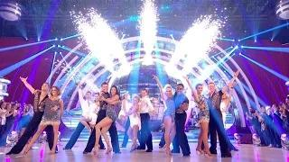 Strictly Come Dancing 2014 - Strictly Pros & Finalists dance to 'Celebration'