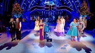 The winner of Strictly Come Dancing Christmas Special 2014 is announced video