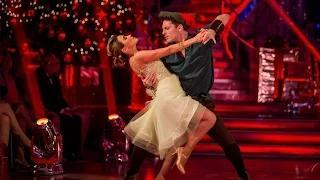 Strictly Come Dancing Christmas Special - Rachel Stevens dances to 'Please Come Home for Christmas'