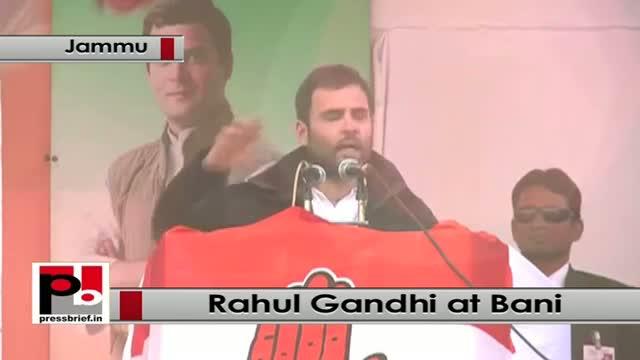 Rahul Gandhi at Bani in J&K: BJP cheating people showing false dreams