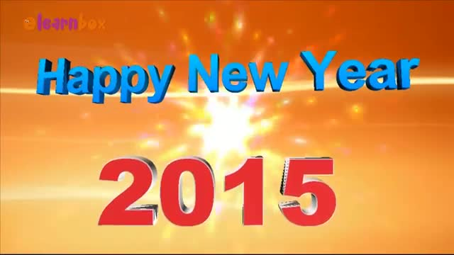 Wish You A Happy New Year 2015 3D Animated Greeting Video | New Year Greetings & Wishes