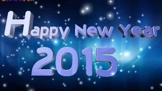 Happy New Year 2015 Musical New Year Wishes Greeting | Best 3D Animated Greetings