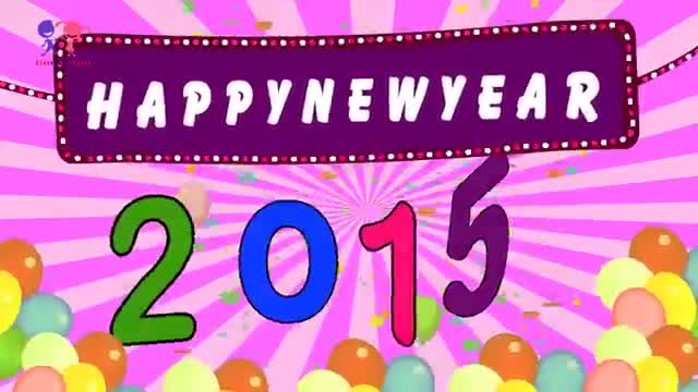 Happy New Year 2015 New Year Wishes Greeting Animation Greeting Card