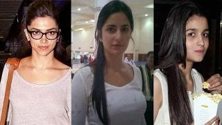 Bollywood Actresses SPOTTED Without MakeUp In 2014 Video