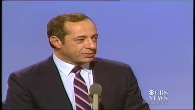 Mario Cuomo: 1984 Democratic National Convention Video