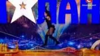 Amazing tightrope walker stuns judges & audience on Ukraine's Got Talent