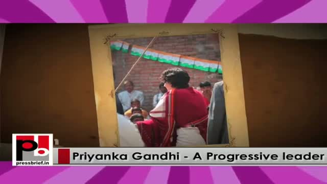 Energetic Priyanka Gandhi Vadra - charismatic and genuine Congress campaigner