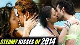 Bollywood's HOTTEST KISSING SCENES of 2014 - Bollywood REWIND 2014 Video