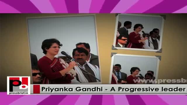 Young Priyanka Gandhi Vadra easily strikes chord with the masses