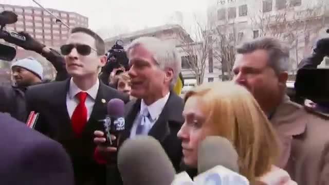 Former Va. Gov. Arrives for Sentencing Video