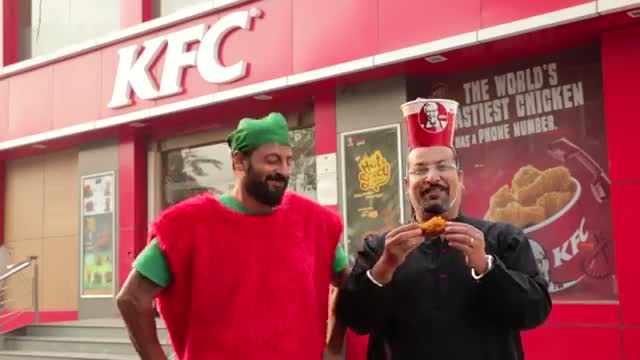 Rocky and Mayur Play the Flame Game - KFC India