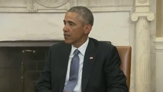 Obama: Paris Shootings a 'cowardly Evil Attack'