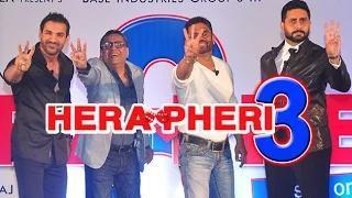 John Abraham And Abhishek Bachchan In Hera Pheri 3