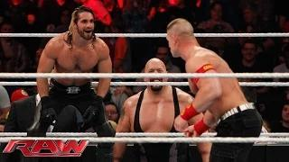 John Cena vs. Seth Rollins - Lumberjack Match: WWE Raw, January 12, 2015