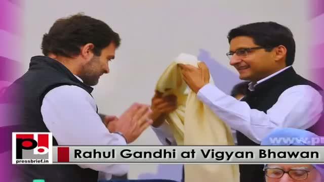 Congress leader Rahul Gandhi has a clear forward looking vision and progressive agenda