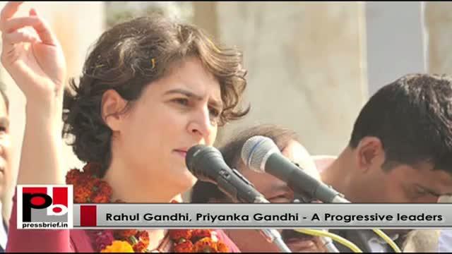 Priyanka Gandhi along with Rahul Gandhi to strengthen congress