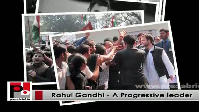 Genuine leader - Whenever people suffer Rahul Gandhi intervenes
