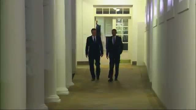 Obama Hosts UK's Cameron at White House
