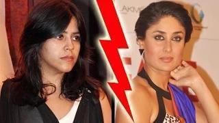 Ekta Kapoor FURIOUS With Kareena Kapoor Khan Video