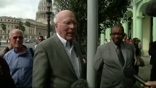 Sen. Leahy Leads Delegation of US Dems to Cuba Video