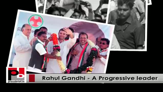 Rahul Gandhi - young Congress VP and a committed leader with modern vision