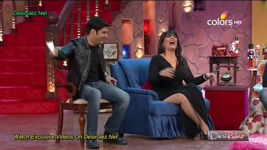 "Comedy Nights With Kapil - Team of upcoming movie ""Dolly Ki Doli"" - Sonam Kapoor, Arbaaz Khan and Malaika Arora Khan - 18th January 2015 - Part 3/4"