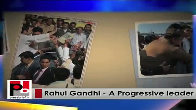 Rahul Gandhi - young Congress vice-president who always ready to fight for people's issues