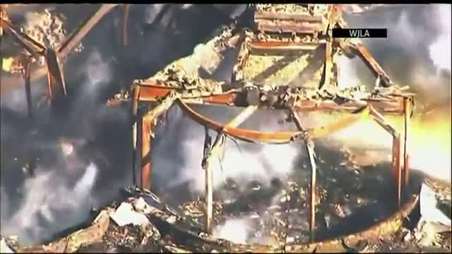 Four-alarm Fire Guts 16,000-sq Foot Md. Mansion Video