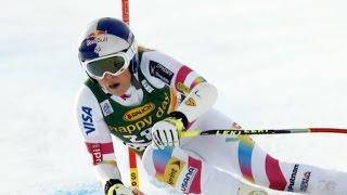 Skier Lindsey Vonn sets new record
