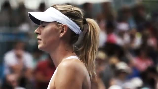 Maria Sharapova: Training Day - Australian Open 2015