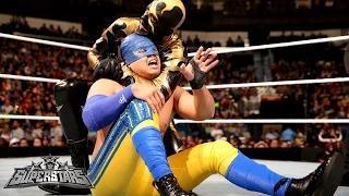 Los Matadores & Justin Gabriel vs. Gold & Stardust & Fandango: WWE Superstars, January 16, 2015